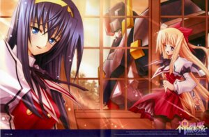 Rating: Safe Score: 9 Tags: himemiya_chikane kaishaku kannazuki_no_miko kurusugawa_himeko mecha User: blooregardo