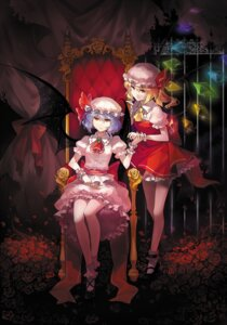 Rating: Safe Score: 29 Tags: flandre_scarlet rella remilia_scarlet touhou wings User: Mr_GT