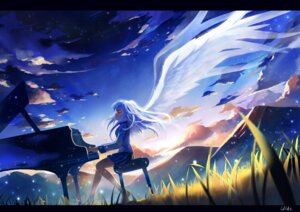 Rating: Safe Score: 31 Tags: angel_beats! ldld2 seifuku tenshi wings User: fireattack