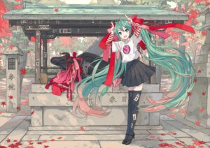 Rating: Safe Score: 35 Tags: hatsune_miku heels ixima thighhighs vocaloid User: Mr_GT