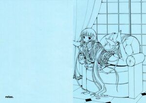 Rating: Safe Score: 20 Tags: chii chobits clamp monochrome User: Share