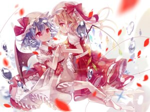 Rating: Safe Score: 33 Tags: flandre_scarlet remilia_scarlet spaderuby touhou wings User: Mr_GT