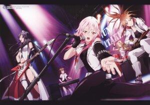 Rating: Safe Score: 79 Tags: guilty_crown guitar kuhouin_arisa menjou_hare pantyhose shinomiya_ayase thighhighs tsugumi_(guilty_crown) yuzuriha_inori User: yd6137