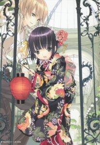 Rating: Safe Score: 21 Tags: claude_claudel ikoku_meiro_no_croisee kimono takeda_hinata yune User: MDGeist
