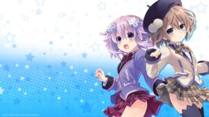 Rating: Safe Score: 30 Tags: blanc choujigen_game_neptune neptune seifuku thighhighs tsunako wallpaper User: Asukakam