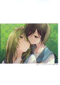 Rating: Safe Score: 15 Tags: seifuku u35 yuri User: kiyoe