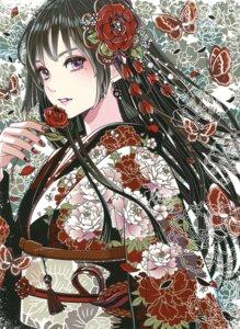 Rating: Questionable Score: 27 Tags: kamijou_eri kimono tagme User: Twinsenzw