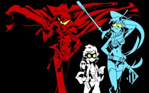 Rating: Safe Score: 18 Tags: kamina simon tengen_toppa_gurren_lagann vector_trace wallpaper yoko User: HSkeleton