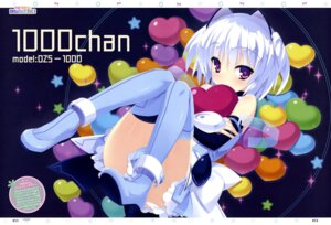 Rating: Safe Score: 31 Tags: 1000-chan heels kannagi_rei oizumi thighhighs User: drop