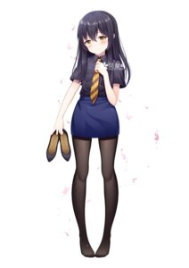 Rating: Safe Score: 26 Tags: official_watermark pantyhose tagme uniform User: saemonnokami