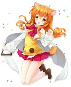 Rating: Safe Score: 57 Tags: animal_ears dog_days inumimi juna ricotta_elmar tail User: fairyren