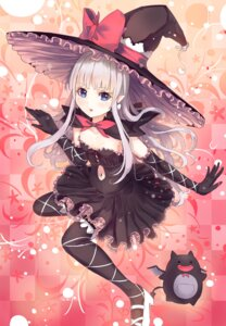 Rating: Safe Score: 78 Tags: culter dress gothic_lolita heels lolita_fashion melty_de_granite pointy_ears shining_hearts shining_world thighhighs witch User: Mr_GT