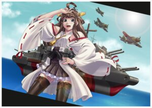 Rating: Safe Score: 14 Tags: kantai_collection kongou_(kancolle) moto7927 thighhighs User: Mr_GT