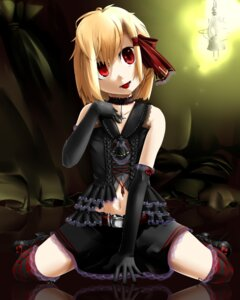 Rating: Safe Score: 5 Tags: gothic_lolita konro lolita_fashion rumia thighhighs touhou User: charunetra