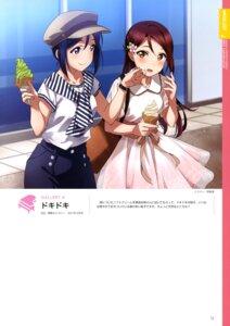 Rating: Safe Score: 19 Tags: cream dress inou_shin love_live!_sunshine!! matsuura_kanan sakurauchi_riko see_through yuri User: drop