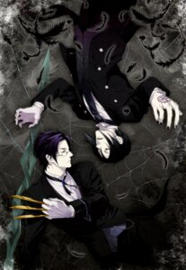 Rating: Safe Score: 11 Tags: claude_faustus kaina kuroshitsuji male megane sebastian_michaelis User: Kanon