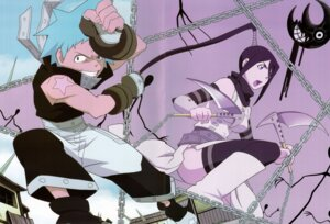 Rating: Safe Score: 8 Tags: black_star crease nakatsukasa_tsubaki screening soul_eater User: charunetra