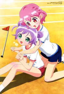 Rating: Safe Score: 22 Tags: buruma gym_uniform hara_shoji leona_west manaka_lala pripara User: drop