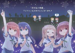 Rating: Safe Score: 10 Tags: chibi cloba_u inose_mai koisuru_asteroid konohata_mira manaka_ao sakurai_mikage seifuku User: saemonnokami