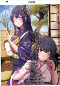 Rating: Safe Score: 28 Tags: calendar fusou_(kancolle) kantai_collection kimono rikka yamashiro_(kancolle) User: 乐舞纤尘醉华音