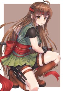 Rating: Safe Score: 54 Tags: bike_shorts japanese_clothes ninja sword tori_(puru0083) weapon User: mash