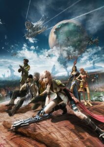 Rating: Safe Score: 31 Tags: cg final_fantasy final_fantasy_xiii hope_estheim lightning oerba_dia_vanille oerba_yun_fang sazh_katzroy snow_villiers square_enix User: Radioactive
