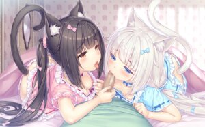 Rating: Explicit Score: 5 Tags: animal_ears breasts censored chocola fellatio game_cg loli neko_works nekomimi nekopara nipples no_bra pantsu penis sayori sheets tail vanilla User: BattlequeenYume