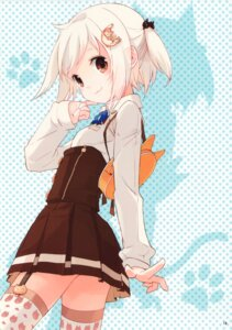 Rating: Safe Score: 97 Tags: atelier_tiv seifuku stockings thighhighs tiv User: yong
