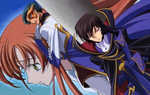 Rating: Safe Score: 12 Tags: code_geass jeremiah_gottwald lelouch_lamperouge sakamoto_shuuji shirley_fenette User: Radioactive
