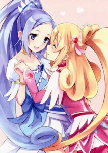 Rating: Safe Score: 22 Tags: aida_mana dokidoki!_precure hishikawa_rikka kyuri pretty_cure User: Radioactive