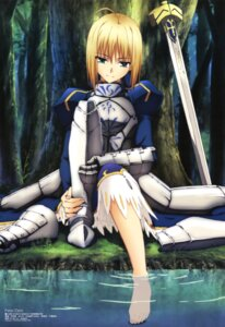 Rating: Safe Score: 101 Tags: fate/stay_night fate/zero saber sword takeuchi_masashi User: Elow69