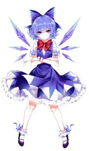 Rating: Safe Score: 28 Tags: cirno dress heels sheya touhou wings User: charunetra