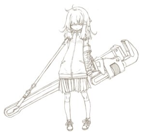 Rating: Safe Score: 21 Tags: line_art monochrome sakuya_tsuitachi User: Radioactive