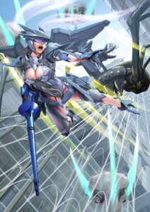 Rating: Safe Score: 16 Tags: bodysuit cleavage gun monster tagme wings User: NotRadioactiveHonest