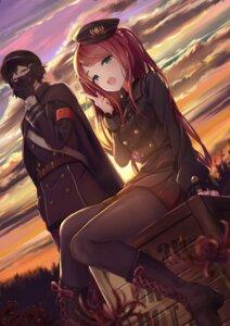 Rating: Safe Score: 27 Tags: akabane_youko heels kanae_(nijisanji) kty_(jarijarikun) nijisanji pantyhose uniform User: BattlequeenYume