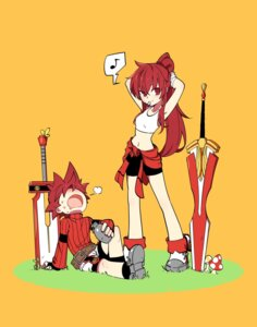 Rating: Safe Score: 29 Tags: bike_shorts elesis elsword elsword_(elsword) hwansang sword User: nphuongsun93