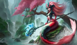 Rating: Questionable Score: 4 Tags: armor cleavage league_of_legends mermaid monster_girl no_bra tagme tail weapon wet User: Radioactive
