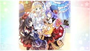Rating: Safe Score: 17 Tags: animal_ears bouquet_(choujigen_game_neptune) choujigen_game_neptune dress four_goddesses_online:_cyber_dimension_neptune game_cg noire peashy pururut tail tsunako wings User: Nepcoheart