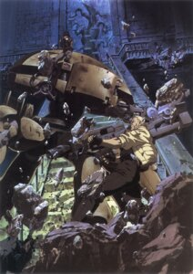 Rating: Safe Score: 19 Tags: batou ghost_in_the_shell gun kusanagi_motoko mecha shirow_masamune User: nanashioni