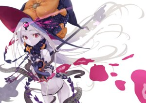 Rating: Questionable Score: 4 Tags: abigail_williams_(fate/grand_order) fate/grand_order kiomota loli pantsu tentacles topless witch User: yanis