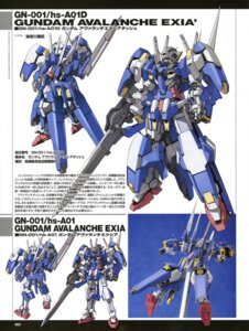 Rating: Safe Score: 7 Tags: character_design ebikawa_kanetake gundam gundam_00 gundam_avalanche_exia mecha photo sword User: Share