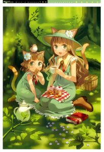 Rating: Safe Score: 10 Tags: animal_ears dress girl's_avenue nekomimi otani_osamu tail User: Aurelia