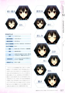 Rating: Safe Score: 4 Tags: choujigen_game_neptune choujigen_game_neptune_mk2 expression profile_page tsunako uni_(choujigen_game_neptune) User: donicila