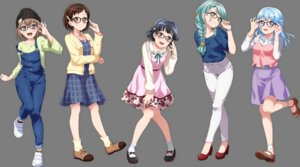 Rating: Safe Score: 14 Tags: bang_dream! dress hazawa_tsugumi heels hikawa_sayo matsubara_kanon megane overalls sweater tagme transparent_png ushigome_rimi yamato_maya User: saemonnokami
