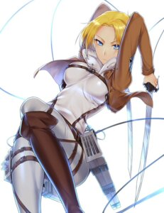 Rating: Safe Score: 49 Tags: annie_leonhardt shingeki_no_kyojin suika01 sword User: Radioactive