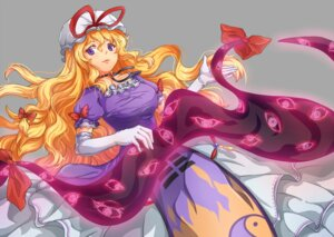 Rating: Safe Score: 20 Tags: dress suo_niao touhou yakumo_yukari User: Mr_GT