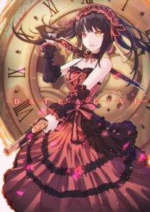 Rating: Safe Score: 27 Tags: cleavage date_a_live dress gothic_lolita gun heterochromia lolita_fashion neon_(hhs9444) tokisaki_kurumi User: Mr_GT