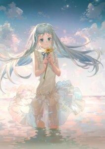 Rating: Questionable Score: 17 Tags: ano_hi_mita_hana_no_namae_wo_bokutachi_wa_mada_shiranai dress honma_meiko kaeeeee loli see_through skirt_lift summer_dress wet User: charunetra
