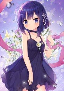 Rating: Safe Score: 32 Tags: cleavage dress fuiba_fuyu gochuumon_wa_usagi_desu_ka? taku_michi User: Mr_GT
