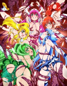 Rating: Explicit Score: 50 Tags: aoki_reika ass bondage breasts extreme_content heels hino_akane hoshizora_miyuki kise_yayoi midorikawa_nao nipples no_bra nopan pretty_cure pussy smile_precure! tama_(artist) tentacles torn_clothes uncensored User: Mr_GT